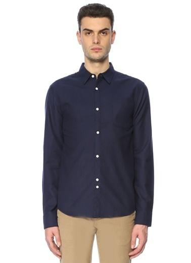 Bellfield Uzun Kollu Klasik Gömlek Lacivert